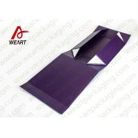 Wholesale UV Coated Automatic Foldable Paper Boxes Gift Packaging With Magnets from china suppliers