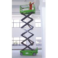 Wholesale 4 x 2 Driving  Self Propelled Scissor Lift ,2.43m x 1.15m x 1.91m with 10m platform height from china suppliers