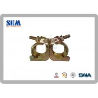 Wholesale Korean Type Hot Dip Galvanized Swivel Coupler Scaffolding Clamps with 48.6*48.6mm from china suppliers