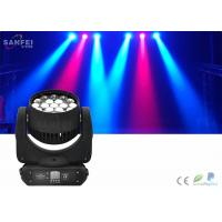Wholesale Event Led Bee Eye Moving Head Zoom Light 12w * 19pcs Rgbw 4 in1 IP20 from china suppliers