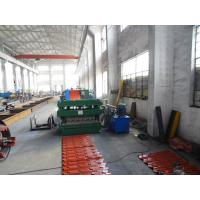 Wholesale End Bent Roofing Tile Roll Forming Machine Glazed Tile 7.5Kw from china suppliers