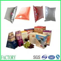 Wholesale high stand strength bag in box for grape wine from china suppliers