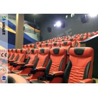 Large Screen Full HD 3D Movie Theater 3D Cinema System With 120 Seats Holiding 120 People