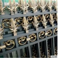 Wholesale Outdoor Aluminum Garden Fencing Custom Designed Decorative Security and Privacy Luxury from china suppliers