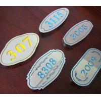 China Osign Engraving Sheet ABS Material Full Color For Point - Of - Purchase Displays on sale