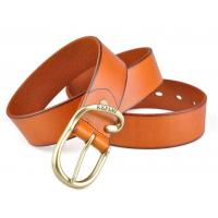 Buy cheap cow leather men waistband with nice buckle factory price for men dress accessories from wholesalers