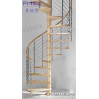 Wholesale In Cheap Price Selling Solid Wood Spiral Staircase from china suppliers