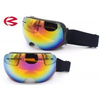 Wholesale Frameless Mirror Coating Ski Snowboard Goggles Under Helmet UV400 Protection from china suppliers
