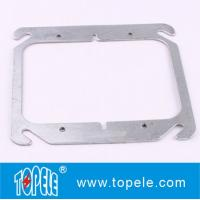 """Wholesale TOPELE 4"""" FLAT BLANK SQUARE COVER FOR TWO GANG OUTLET BOXES , GALVANIZED STEEL from china suppliers"""