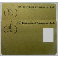 Buy cheap RFID Higgs 3 magnetic custom printed Plastic Loyalty Cards with Dual Frequency from wholesalers