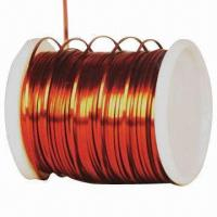 Wholesale Ultra Fine Rectangular Enameled Copper Wires, Measures 0.050 to 0.800mm, GB6109.8-89 Standard from china suppliers