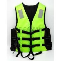 Wholesale Adult Green Water Sport Life Jacket PFD Inherent Buoyancy Boat Life vest from china suppliers