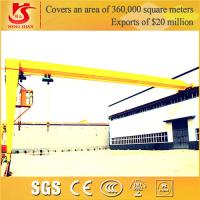 Wholesale Manufacturer With Low Price BMH Model Semi Gantry Crane With Electric Hoist from china suppliers