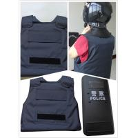 Wholesale Military Police Lightweight Bullet Proof Vest / Concealable Stab Proof Vest Soft Body Armor from china suppliers