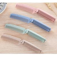 Wholesale Travel Wheat Folding Comb from china suppliers