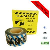 Wholesale 7.5cm Width Safety Buried Underground Detectable Warning Tape for Irrigation from china suppliers