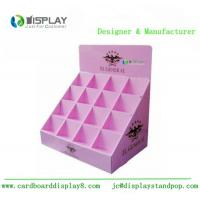 Wholesale Shop Retail Table Top Cosmetic Display Stand Cardboard Customized Size from china suppliers