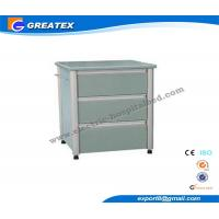 Wholesale Aluminum Column Wooden Antique Hospital Bedside Cabinet Table With Drawer And One Door from china suppliers