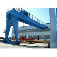Wholesale Outdoor Profesional Double Girder Semi Gantry Crane / Lifting Equipment from china suppliers