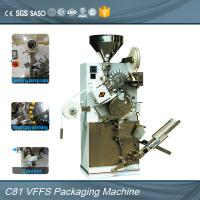 Quality Multifuctional Vertical Automatic Tea Bag Machine With Boxing Automatic for sale