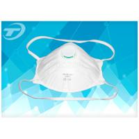 Wholesale Single Use Respirator FFP1 Disposable Face Mask With  Valve / SBPP Fabric from china suppliers