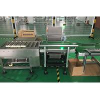 Wholesale Check Weigher for Heavy Weight 10- 20kgs products weight  and reject process from china suppliers