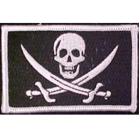 Wholesale Black White Full Color Flag Patch Personality Velcro For Clothes Jackets Hats Embroidery V from china suppliers