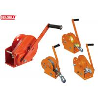 Wholesale 0.5 Ton Hand Lifting Winch / Manual Trailer Winch With Cable Wire And Hook from china suppliers