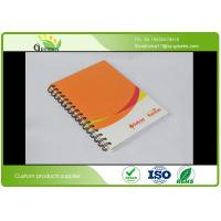 Wholesale Glossy Lamination A5 Spiral Bound Notebook With 4C Full Colors CMYK Printing from china suppliers