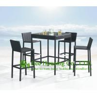 Wholesale 100% New PE Rattan Bar Stools For Outdoor, Aluminum Frame Bar Stool For Sale from china suppliers