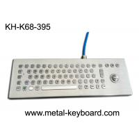Wholesale Desktop Rugged Metal Industrial Computer Keyboard with Trackball Mouse from china suppliers
