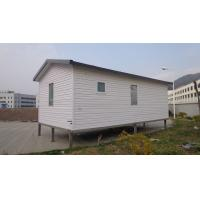 Wholesale White Eco Friendly Prefabricated Mobile Homes / Light Steel Log Mobile Homes from china suppliers