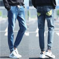 Quality Casual Loose Fit Men Tapered Leg Jeans , Skinny Bootcut Boyfriend Jeans for sale