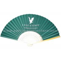 Wholesale Custom Printed Japanese folding fan , hand held paper fans for weddings from china suppliers