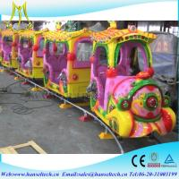 Wholesale Hansel hot selling amusement game machine amusement park rides mini train for kids from china suppliers