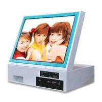 Wholesale Touch Screen Self Service Digita Photo Countertop Kiosk For Printing / Download from china suppliers