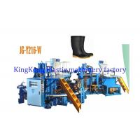 Wholesale 35 Tons Injection Pressure Plastic Shoes Making Machine For Ankle Boots / Short Boots from china suppliers