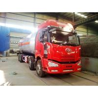 Wholesale 35000 liter faw new model J6 6x4 mobile lpg dispenser truck for sale, factory sale best price FAW 35M3 lpg gas tank from china suppliers