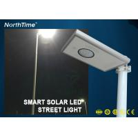 Wholesale Infrared Body Sensor Solar luminaires Solar Powered Road Lights All in One Pole from china suppliers