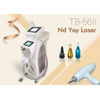 Wholesale Radio Frequency Elight IPL Tattoo Removal Machine , ND YAG Laser Depilation Machine from china suppliers
