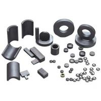 Wholesale Permanent brittle and hard Ferrite Magnets ring , arc , cylindrical for Speaker from china suppliers