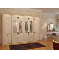 Wholesale European style bedroom wooden wholesale wardrobe from china suppliers