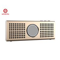 Wholesale High Fidelity Aluminum Ultra-thin Bluetooth Travel Speakers For PC / Ipod / Ipad from china suppliers