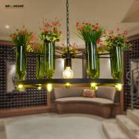 Wholesale Modern Pendant Lights Led Glass Suspension lustre pendente Fixture Kitchen Dining room Flower Lamparas de techo colgante from china suppliers