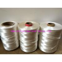 Quality 100% Virgin Polypropylene Fillers , High Strength Split Yarn White Color for sale