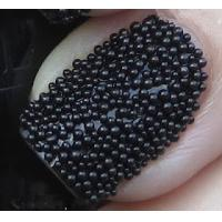 Wholesale Fashionable Black Glass Caviar Nail Art Full Cover Pearl Nail Art For Wedding from china suppliers