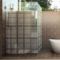 Wholesale Etched/Shower Enclosures/Frosted Pattern Glass from china suppliers