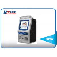 Wholesale Wall mounted self service kiosk in hospital with fingerprint reader from china suppliers