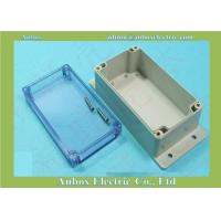 Wholesale 195*90*60mm clear lid plastic waterproof box with wall mount flange from china suppliers
