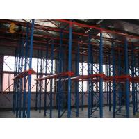 Wholesale Powder Coating Galvanization Customzied Size Push Back Pallet Racking from china suppliers
